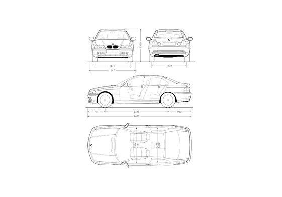BMW 3-Series E46 Coupe 1999