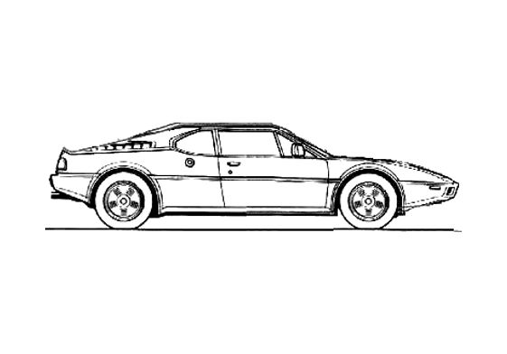 BMW M1 Coupe 1978