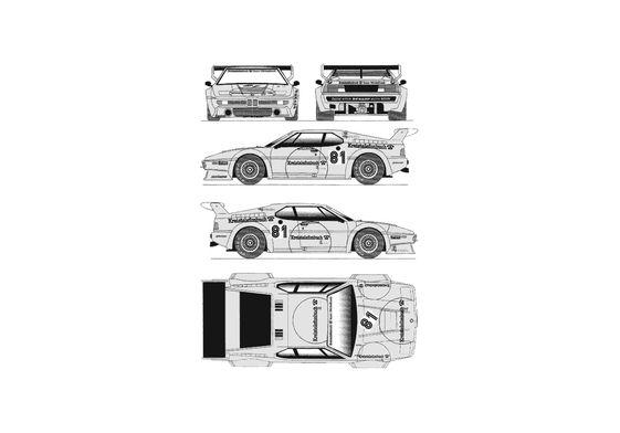 BMW M1 E26 Coupe 1981