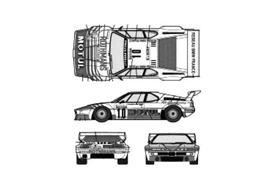 BMW M1 E26 Motul Tour de Corse Coupe 1982