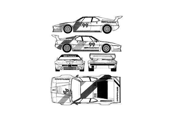 BMW M1 Procar Coupe 1979