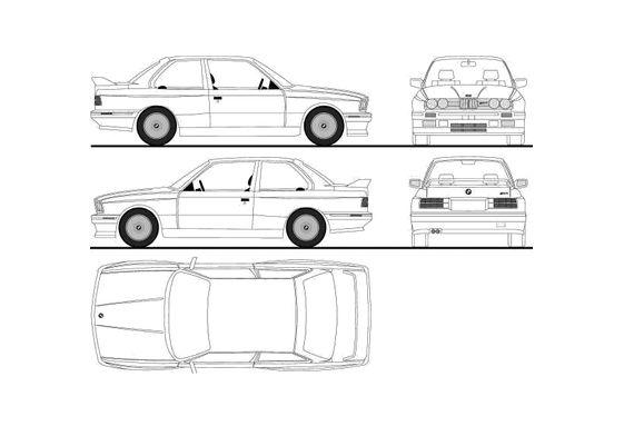 BMW M3 E30 Coupe 1988