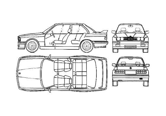 BMW M3 E30 Coupe 1991
