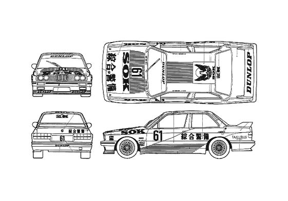 BMW M3 E30 Group A Racing Coupe 1988