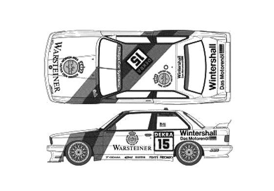 BMW M3 E30 Sport Evo DTM Coupe 1989
