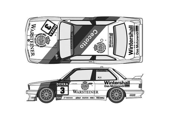 BMW M3 E30 Sport Evo DTM Coupe 1991
