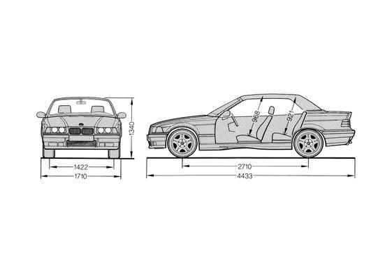 BMW M3 E36 Cabriolet 1998