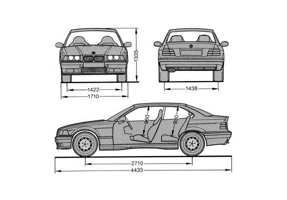 BMW M3 E36 Coupe 1992