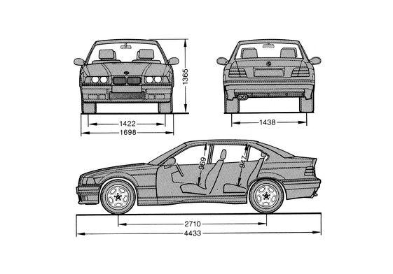 BMW M3 E36 Sedan 1997