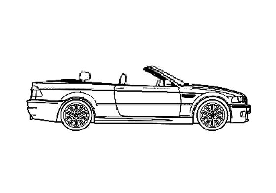 BMW M3 E46 Convertible Cabriolet 2001