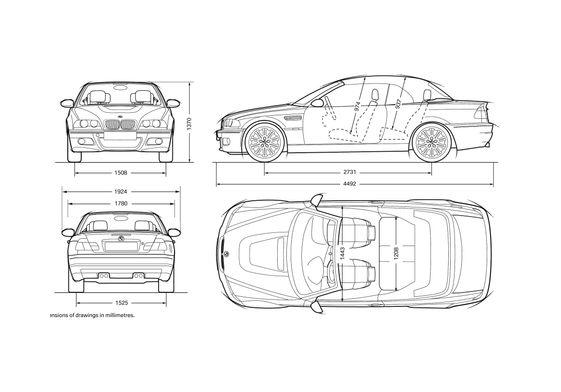 BMW M3 E46 Convertible Cabriolet 2007
