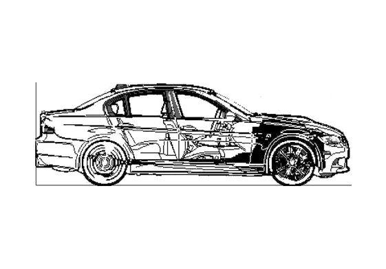 BMW M3 E90 4-door Sedan 2008