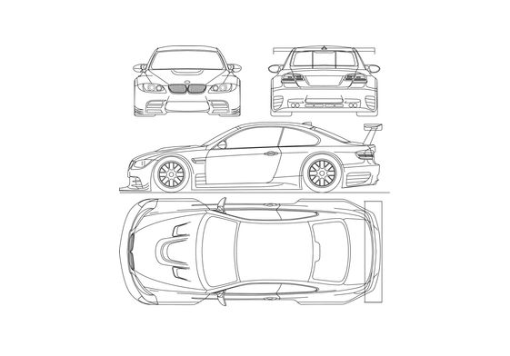 BMW M3 E92 GTR Coupe 2008