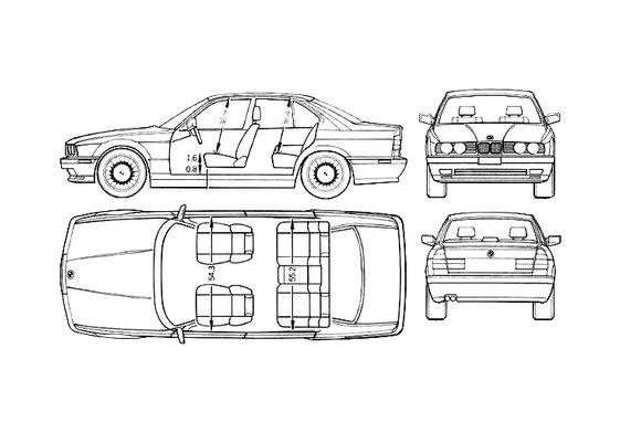 BMW M5 E34 Sedan 1991