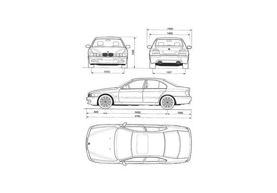 BMW M5 E39 Sedan 1998