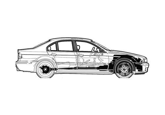 BMW M5 E39 Sedan 2002