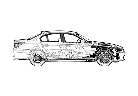 BMW M5 E60 Sedan 2006
