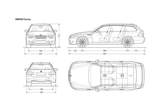 BMW M5 E61 Touring Wagon 2007