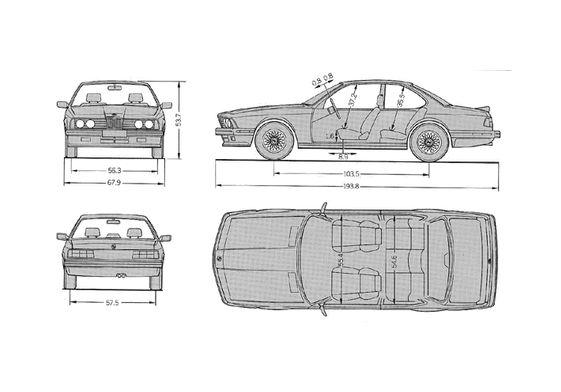 BMW M6 E24 Coupe 1983