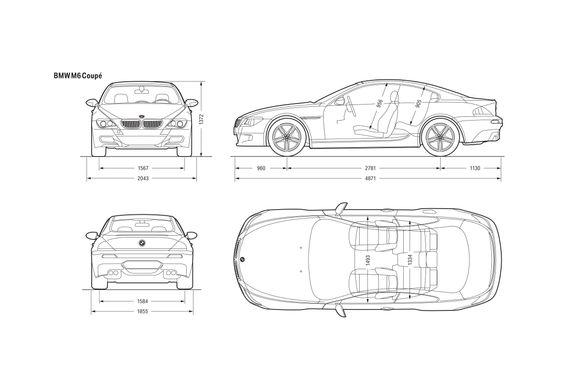 BMW M6 E63 Coupe 2007