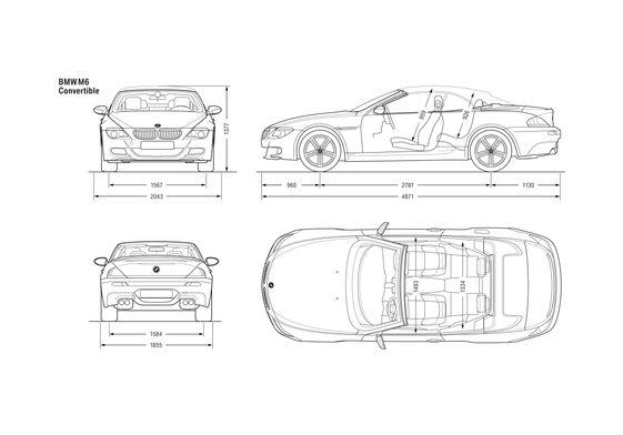 BMW M6 E64 Convertible Cabriolet 2007
