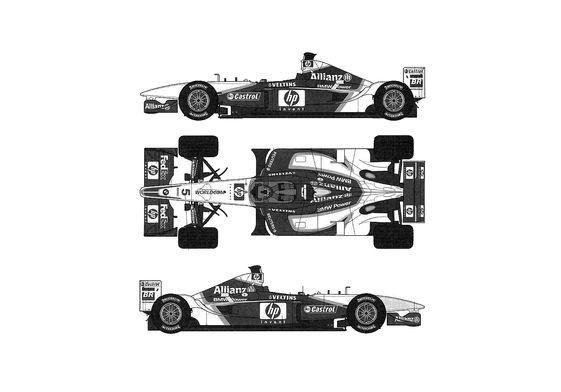 BMW Williams FW24 F1 OW 2002