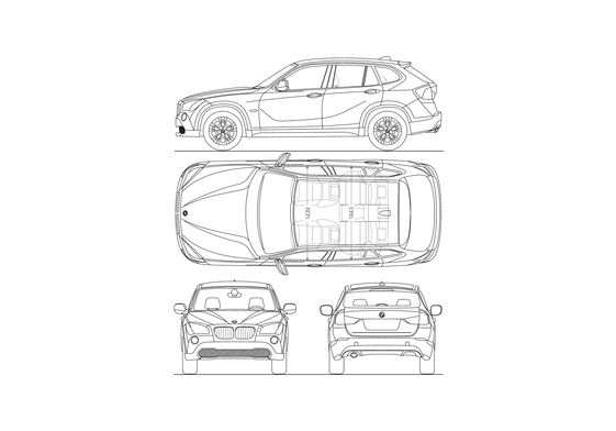 BMW X1 SUV 2009