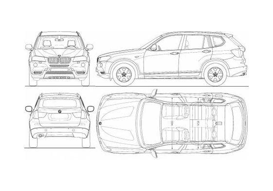 BMW X3 SUV 2010
