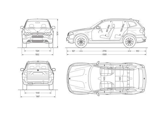 BMW X3 E83 SUV 2007