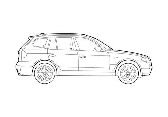 BMW X3 E83 SUV 2009