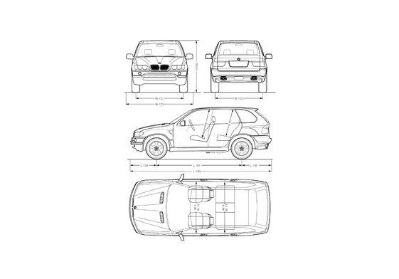 BMW X5 E53 SUV 2000