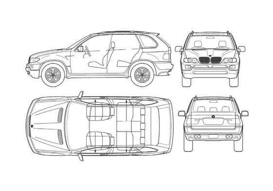 BMW X5 E53 SUV 2004