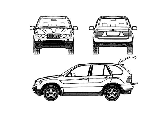 BMW X5 E53 3.0i SUV 2003