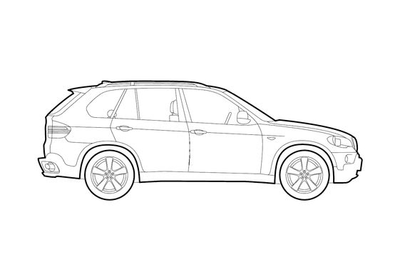 BMW X5 E70 SUV 2009