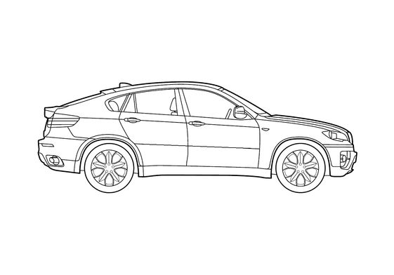 BMW X6 SUV 2009