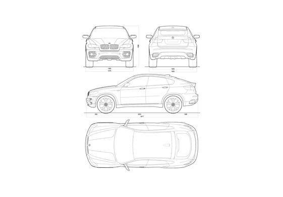 BMW X6 Concept SUV 2007