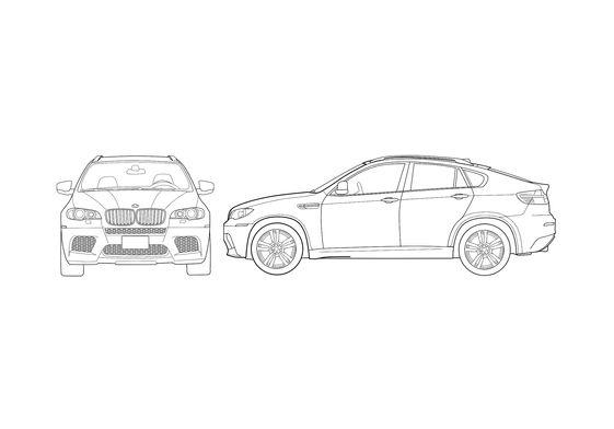 BMW X6 M SUV 2009