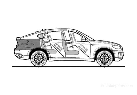 BMW X6 xDrive 35d SUV 2008