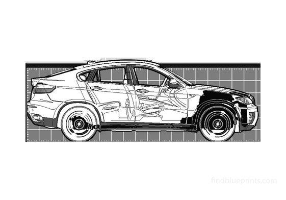 BMW X6 xDrive 50i SUV 2008