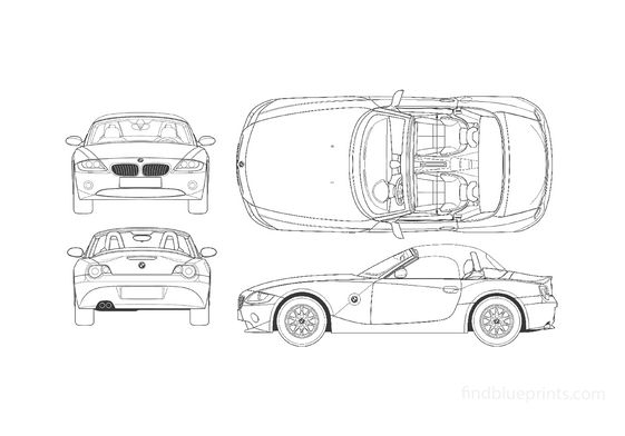 BMW Z4 E86 Cabriolet 2003