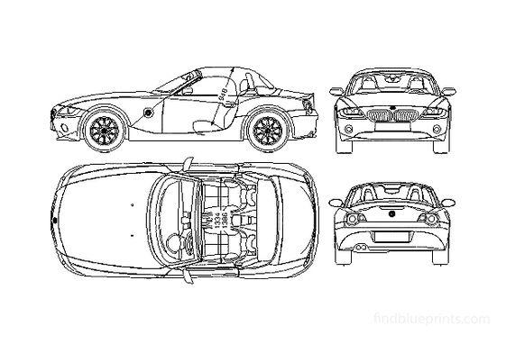 BMW Z4 E86 Cabriolet 2002