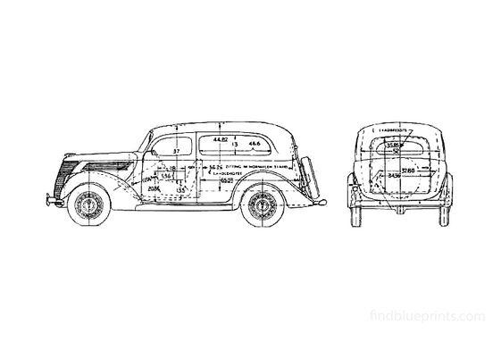 Ford  Wagon 1937