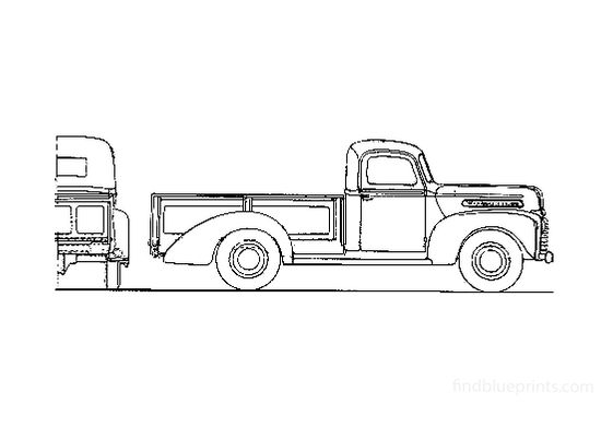 Ford 1 ton Pick-up 1946