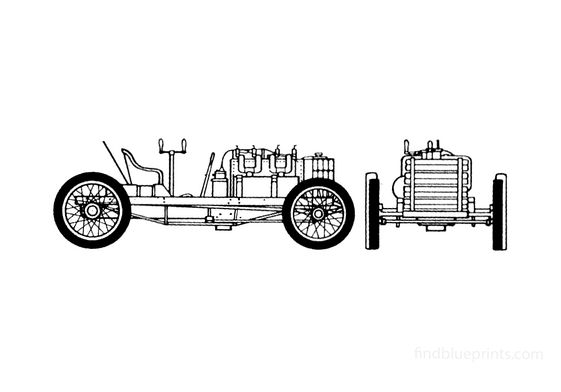 Ford 999 Cabriolet 1904