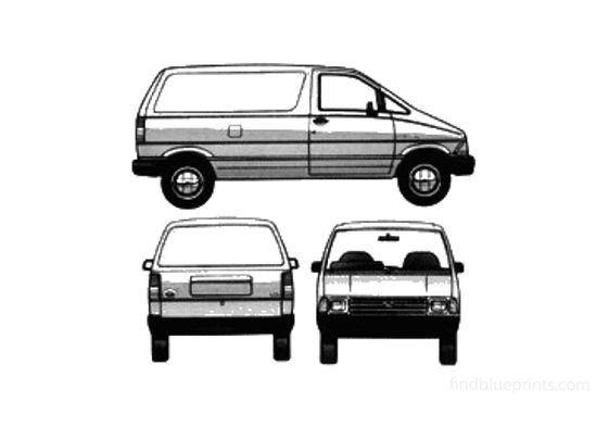 Ford Aerostar Van 1986