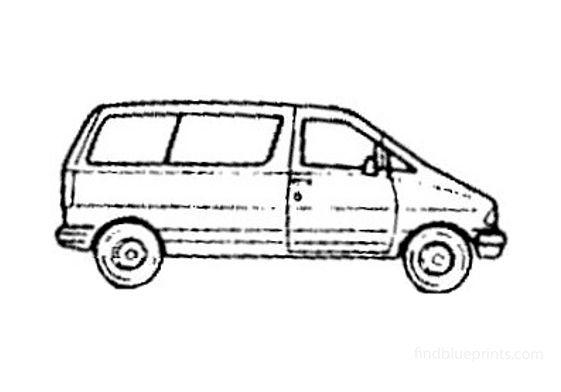 Ford Aerostar Van 1997