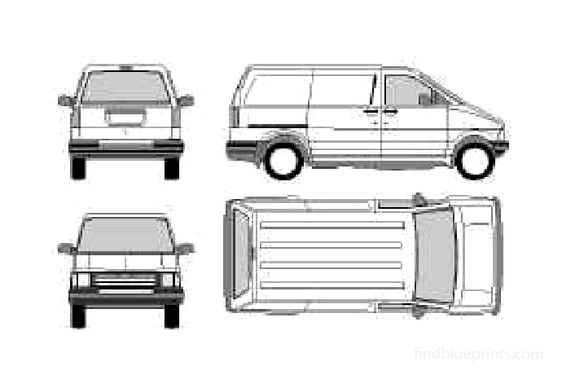 Ford Aerostar SWB Van 1991