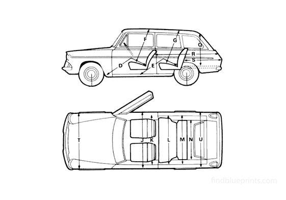 Ford Anglia 105E Estate Wagon 1967