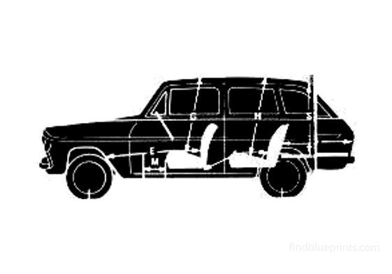 Ford Anglia 105E Estate Wagon 1977
