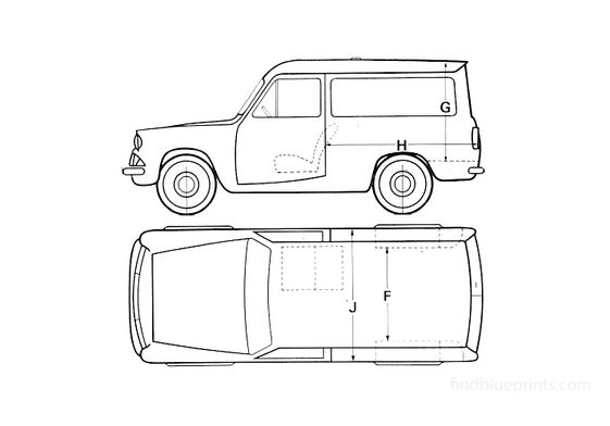 Ford Anglia 307E Van 1967